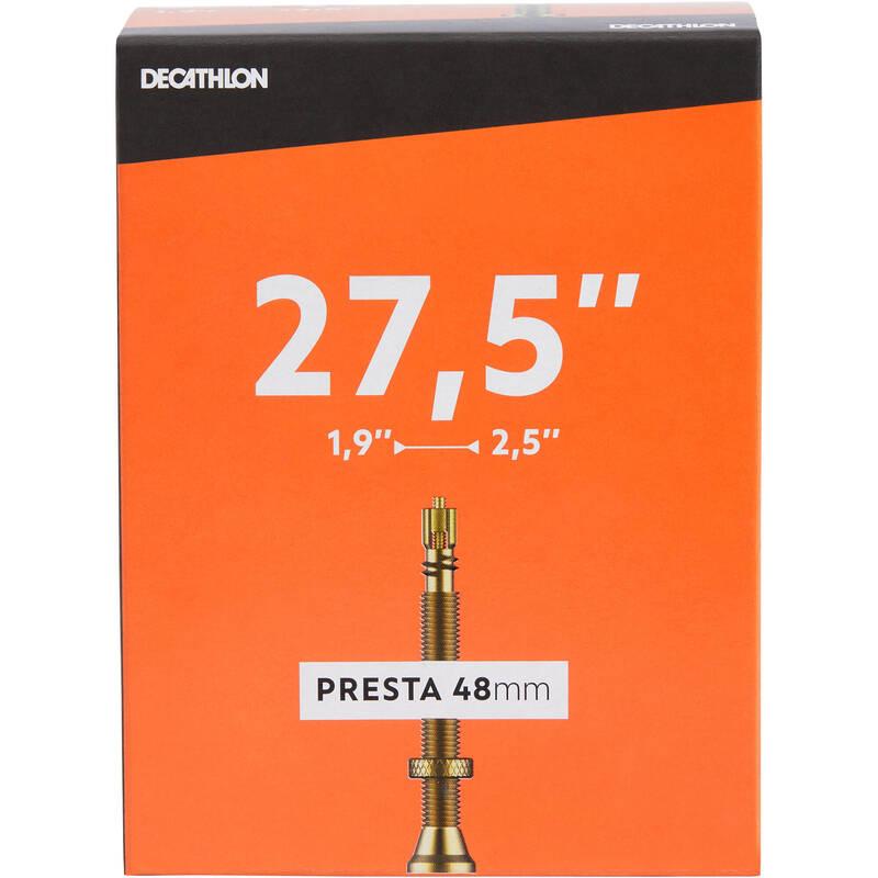 DUŠE Cyklistika - DUŠE 27,5 × 1,9/2,5 PRESTA DECATHLON - Náhradní díly a údržba kola