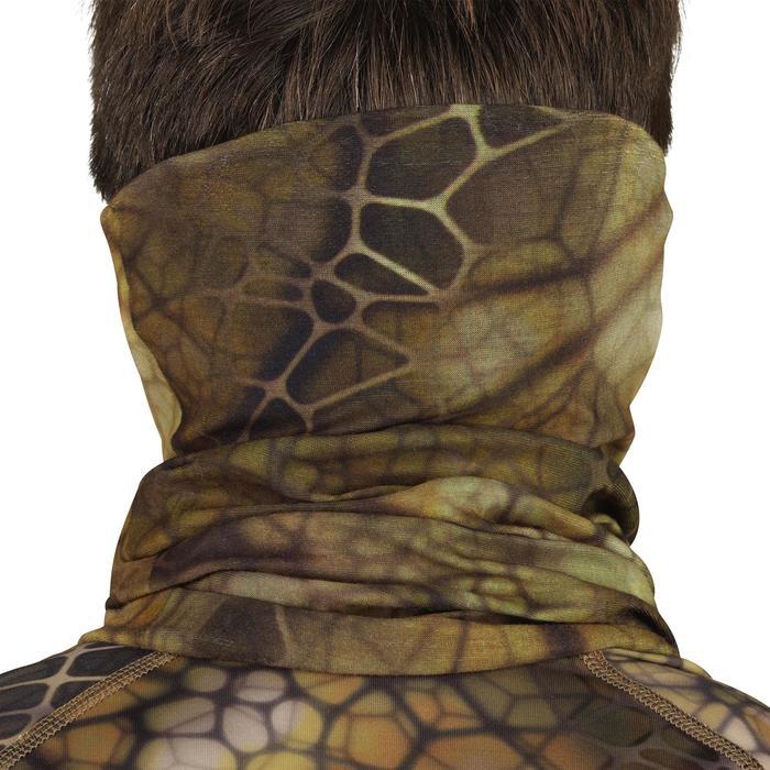 Camouflage nekwarmer voor de jacht 100 Furtiv