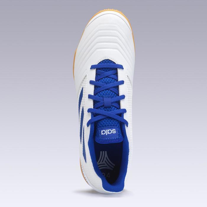 Zaalvoetbalschoenen Predator Tango 4 PE19 blauw wit