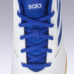 Hallenschuhe Futsal Fußball Predator Tango 4 FS19 Erwachsene weiß/blau