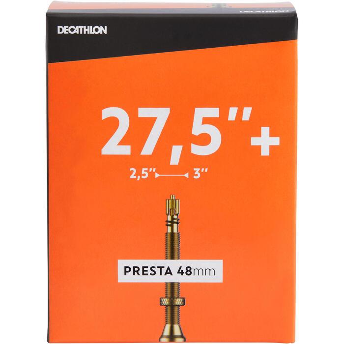 CÁMARA DE AIRE 27,5x2,50/3,00 VÁLVULA PRESTA 48 mm