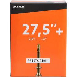 Fahrradschlauch 27,5 × 2,5/3,0 Presta 48 mm
