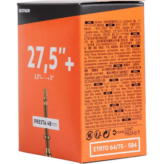 CHAMBRE A AIR 27,5x2,50/3,00 VALVE PRESTA 48MM