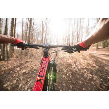 """Bicicleta de Montaña Rockrider XC 900 29"""" Carbono 12v Rojo y Negro"""