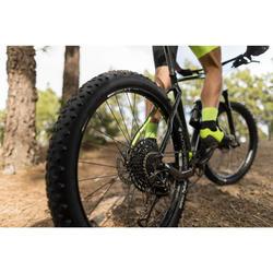 Vélo VTT XC 100 27,5 PLUS EAGLE noir et fluo