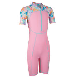 Girl swimming costume - Dotted pink