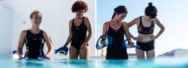 Die verschiedenen Formen von Aquafitness.