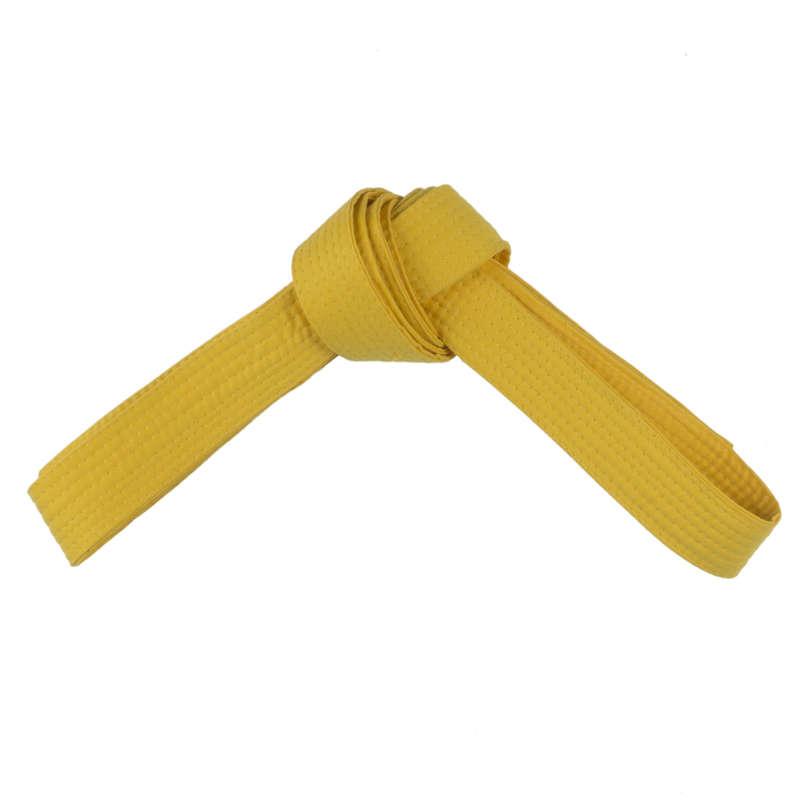 ПОЯСА Боевые искусства - Пояс д/кимоно 2,0 м жёлтый RU OUTSHOCK - Тхэквондо
