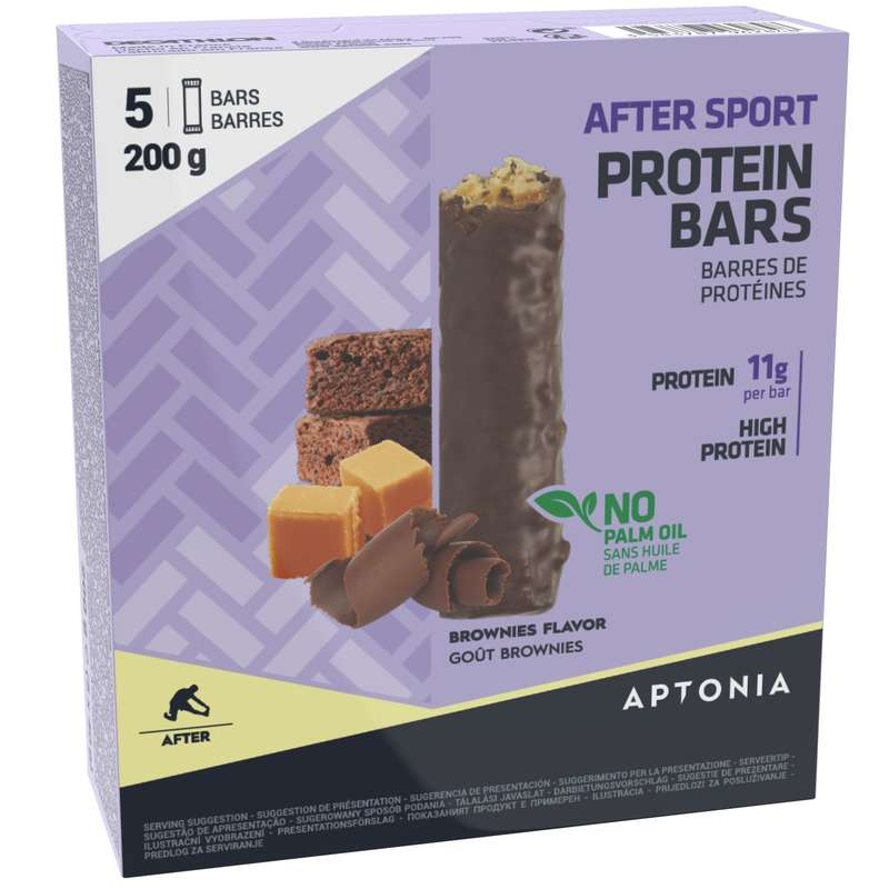 BARS, GELS & AFTER Boxing - PROTEIN BAR 5X40 G BROWNIE APTONIA - Boxing Nutrition