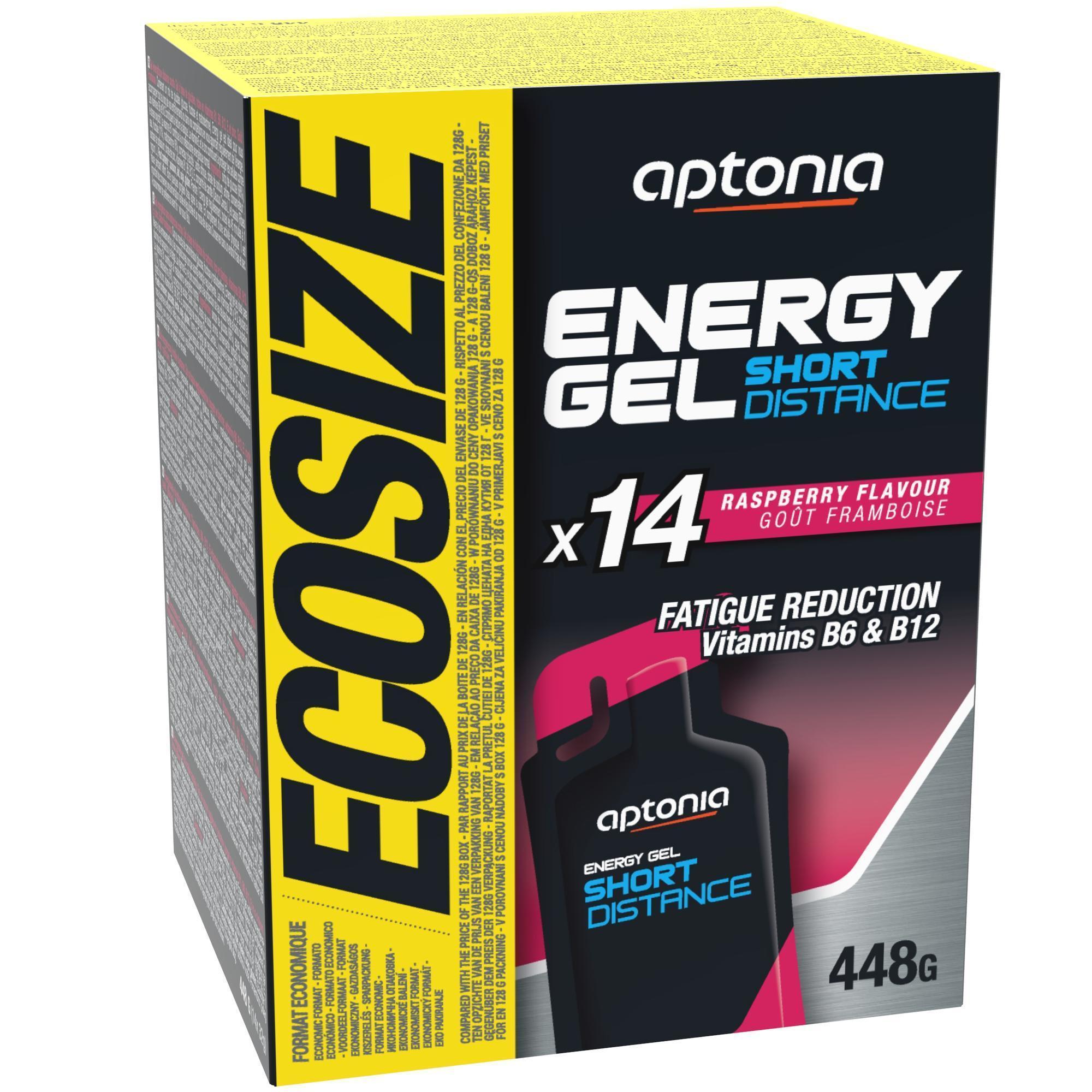 Aptonia Energiegel korte afstand framboos 14x 32 g