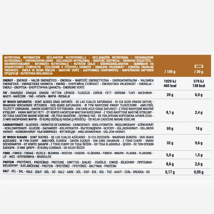 Graanrepen pure chocolade amandelen pindanoten 6 x 30 g