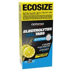 Tabletas Electrolitos Triatlón Aptonia Ecosize Limón 40 X 4 G