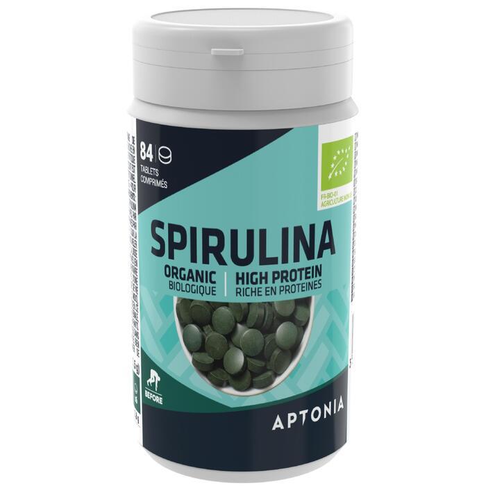 Spirulinatabletten Bio voor een kuur van 3 weken 84x 0,5 g