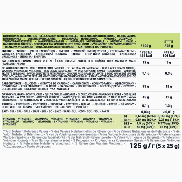 Energy-Riegel Fruchtriegel Ultra Nougat/Honig 5×25 g