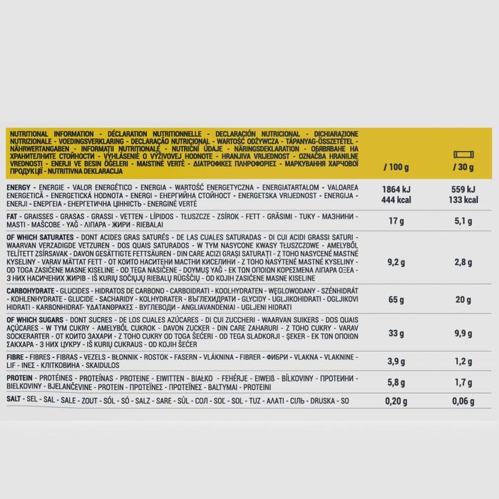 Graanrepen chocolade banaan 6 x 30 g