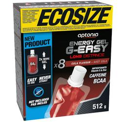 Gel energético larga distancia g-easy ECOSIZE Cola 8 x 64 g