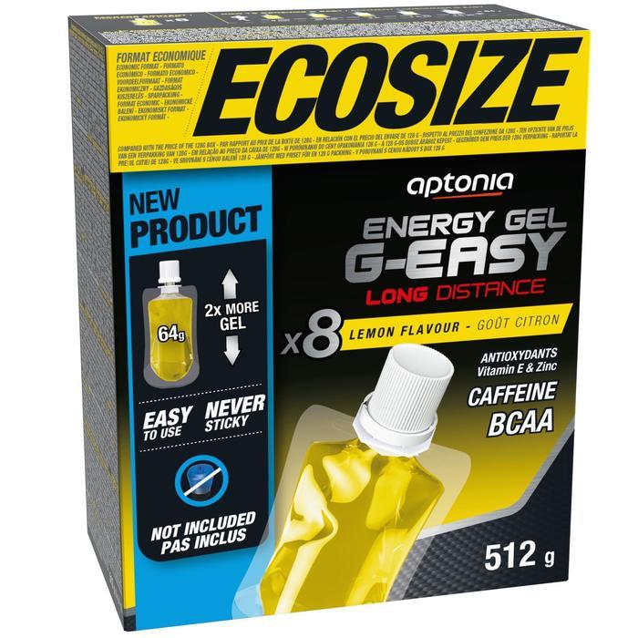 Gel energético larga distancia g-easy ECOSIZE Limón 8x64 g