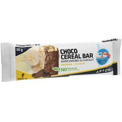 Barrita de cereales con cobertura de plátano y chocolate 30 g