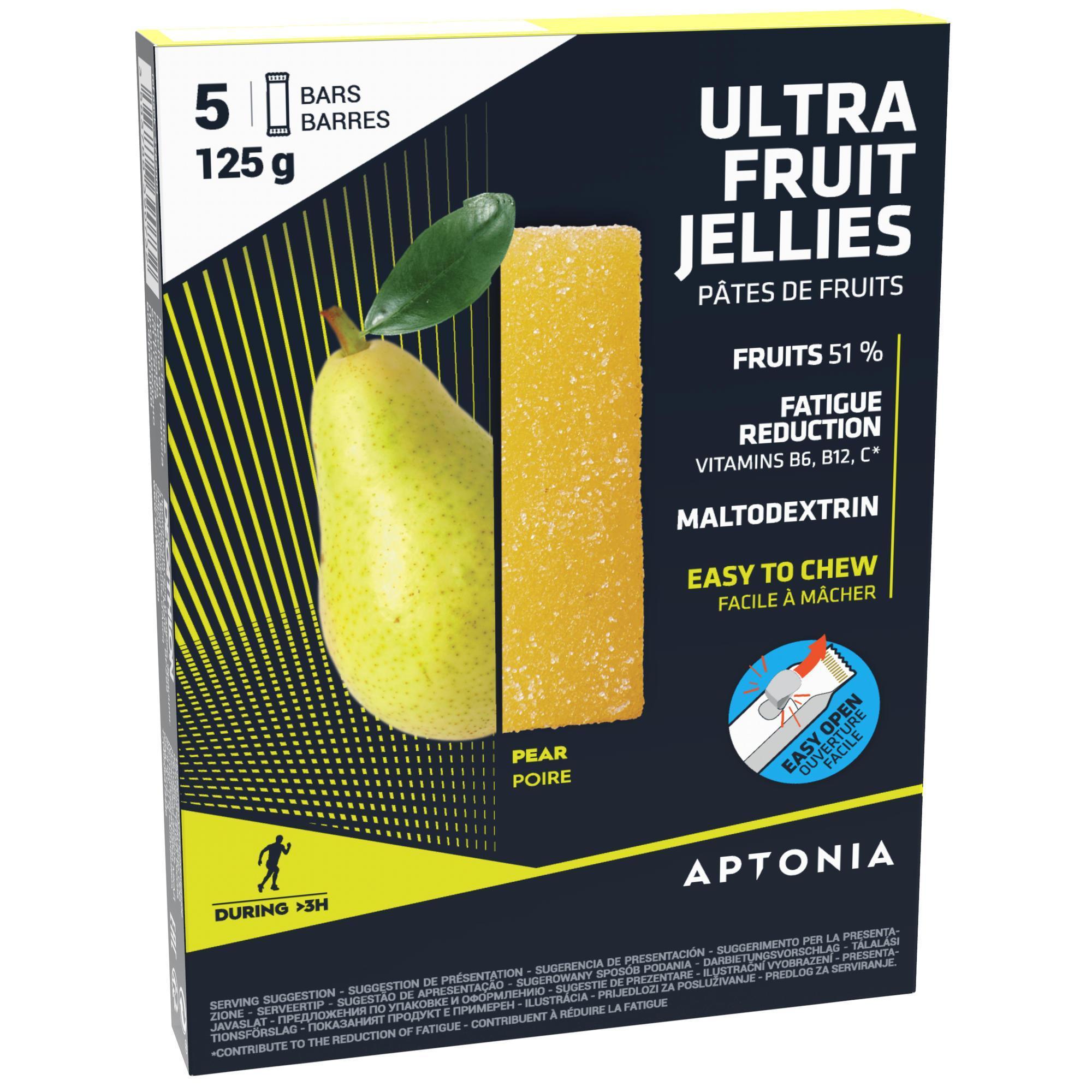 La Poste Le Poiré Sur Vie pâte de fruits ultra poire 5x25g