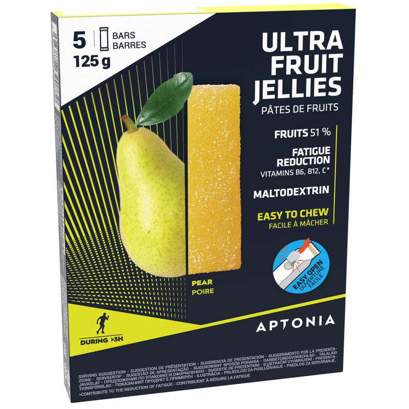 BARS, GELS & AFTER Triathlon - Fruit jellies 5x25g - Pear APTONIA - Triathlon
