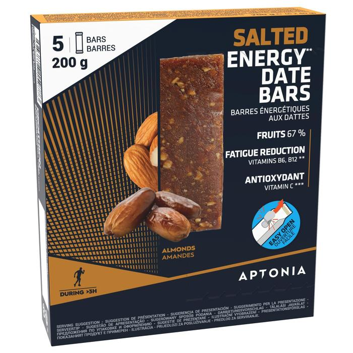 Barrita Energética Salada Triatlón Aptonia Almendras 5 X 40 G
