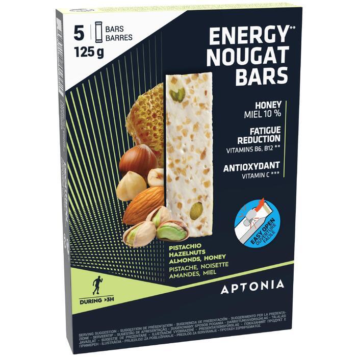 Energierepen met nougat 5 x 25 g