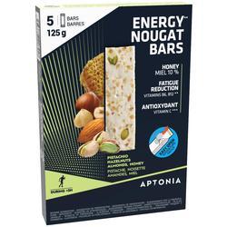Energierepen met nougat 5x 25 g