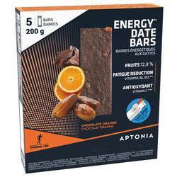 Energierepen met dadels, sinaasappels en chocolade 5x 40 g