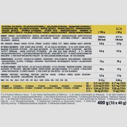 Barre énergétique aux dattes et à la banane ECOSIZE 10x40g
