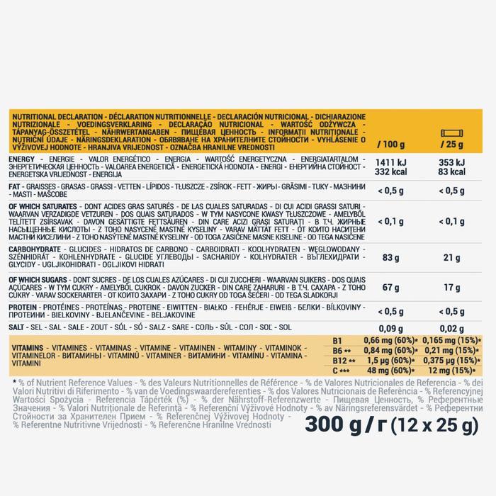 Pasta de frutas ECOSIZE ULTRA cítricos acerola 12x25 g