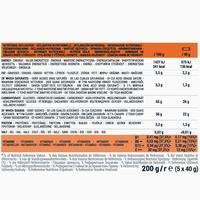 Barre énergétique aux dattes, à l'orange et au chocolat5x40 g