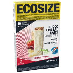 Barrita Cereales Triatlón Aptonia Ecosize Chocolate Blanco Frutos Rojos 10x30G