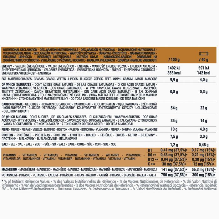 Energierepen met gezouten amandelen 5x 40 g