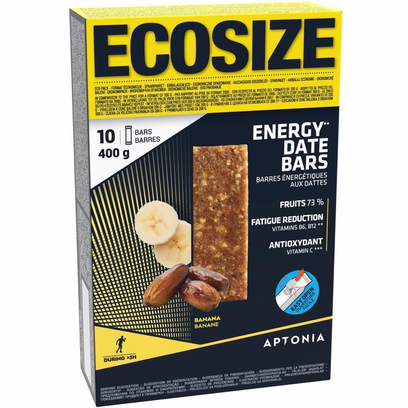 Energierepen met dadels en banaan voordeelpack 10x 40 g