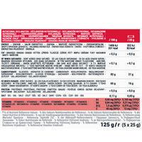 ULTRA fruit jellies 5x25g - strawberry cranberry acerola