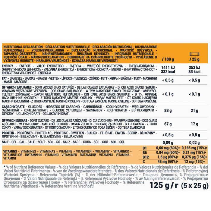 Pasta de frutas ULTRA cítricos 5x25g
