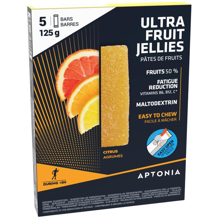 Fruit jellies Ultra citrusvruchten 5x 25 g