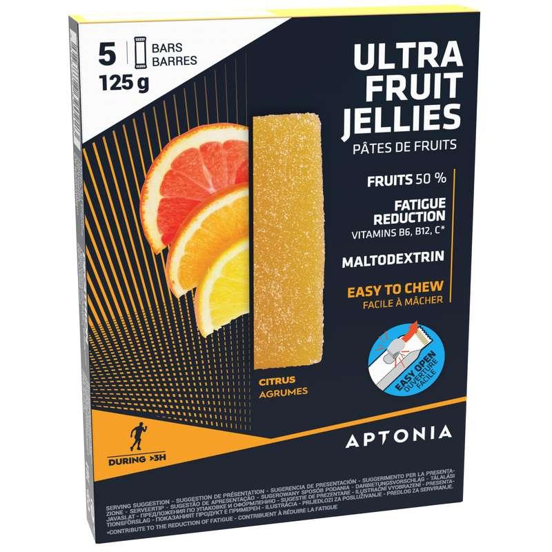 TYČINKY, GELY PO SPORTU Triatlon - OVOCNÉ ŽELÉ CITRUS 5 × 25 G APTONIA - Výživa a hydratace