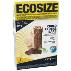 Graanrepen chocolade/banaan Ecosize 10x30g