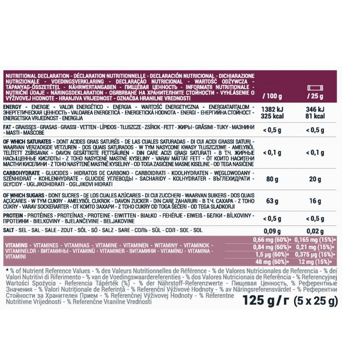 Fruchtpaste Ultra Cassis/Apfel 5×25g