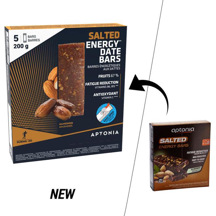 Barre énergétique SALTED BAR amandes salées 5x40g