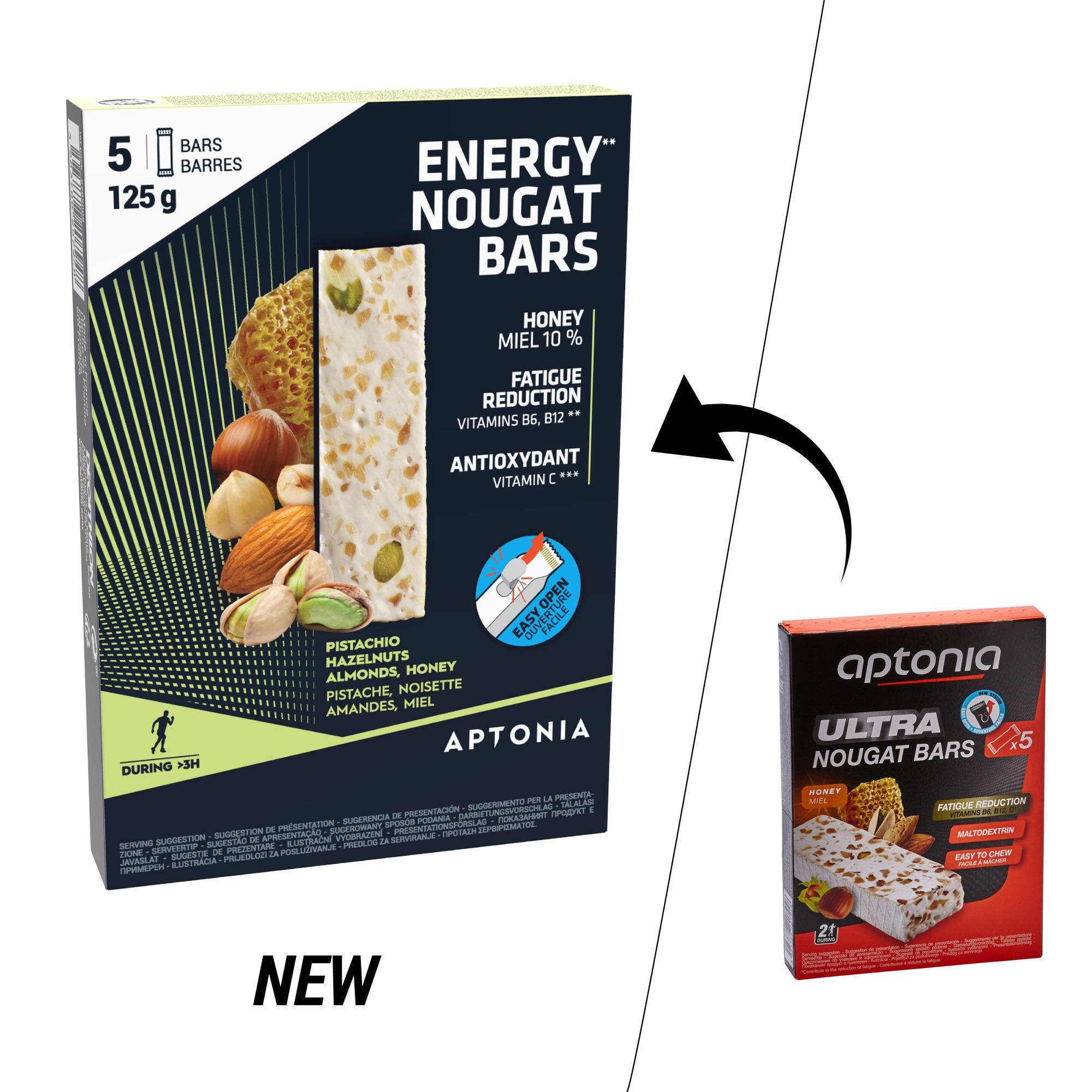 Energy-Riegel Nougat 5 × 25 g
