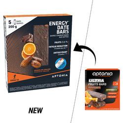 Barrita energética ULTRA BARS naranja chocolate 5x40 g