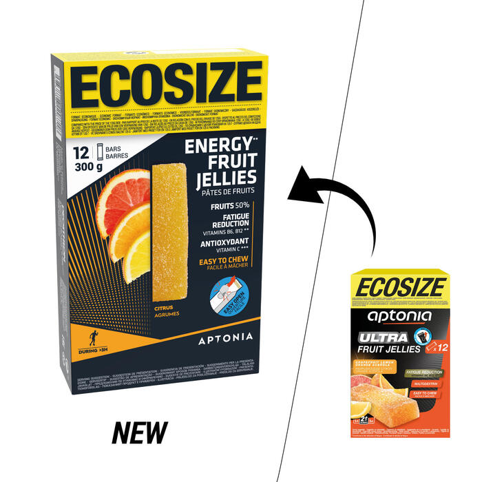 Energy-Fruchtpaste ECOSIZE Zitrus/Acerola 12 × 25 g