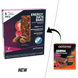 Barrita energética con dátiles y frutos rojos 5 x 40 g