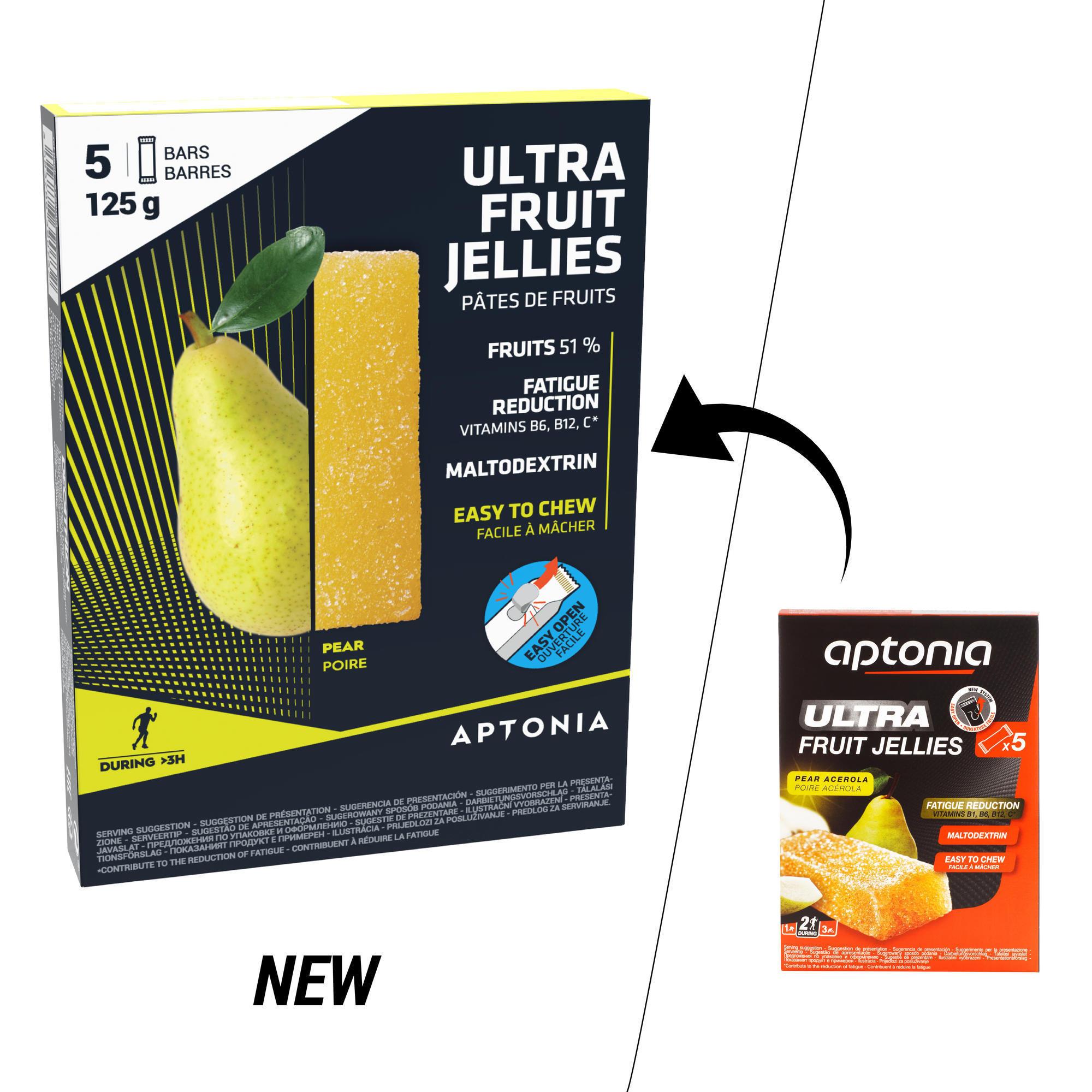 Fruchtriegel Energieriegel Ultra Birne 5 נ25 g
