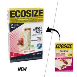 Barrita de cereales ECOSIZE con cobertura de chocolate y frutos rojos 10 x 30 g