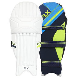 Cricket Batting Pads, Youth/Adults, Certified Safety, Fluorescent Green BP100