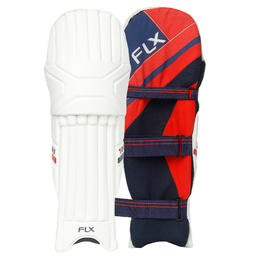 Cricket Batting Pads, Youth/Adults, Certified Safety, Red, BP 100