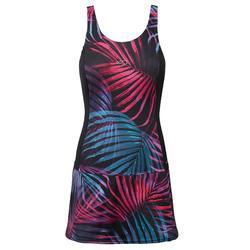 女款連身裙泳裝Vega - Ond 黑色